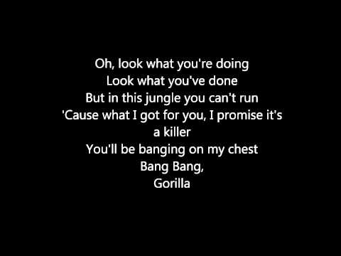 Bruno Mars – Gorilla lyrics