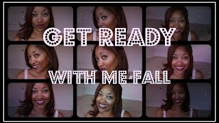Get Ready With Me | Fall Minimal Makeup - YouTube