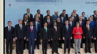President Trump experienced quite the humbling moment at the G20's annual family photo. Nathan Rousseau Smith (@fantasticmrnate) reports.