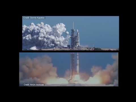 Saturn V vs FH Exhaust Flumes Comparison