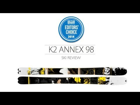 2014 K2 Annex 98 Ski Review - Men's All Mountain Editors' Choice