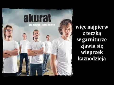 Tekst piosenki Akurat - Źródło 1 po polsku