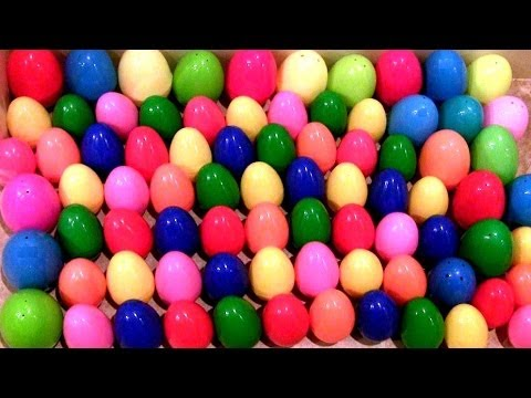 100 Kinder Super Surprise Eggs!! LOTR Smurfs Star Wars Cars Toons Marvel the Avengers Disney Pixar
