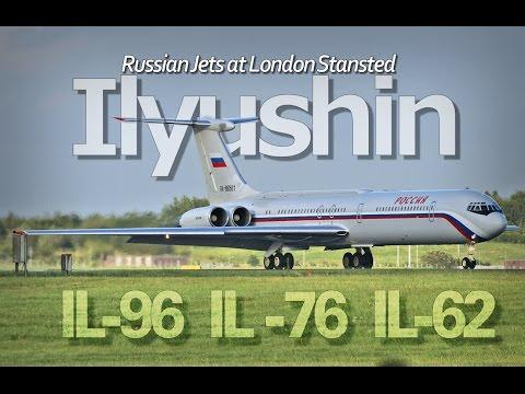 Илюшинские самолеты в Лондоне IL76 IL62 Редкие