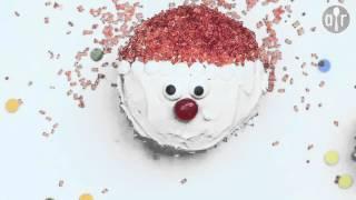 Cupcake Père-Noël