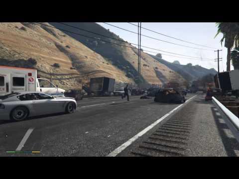 史上最慘烈的GTA撞車事件,只因為這位玩家一時逆向開車...