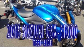 8. 2016 Suzuki GSXS-1000 Ride Review and Impressions