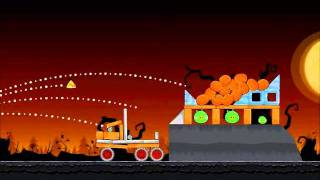 Angry Birds Seasons Walkthrough Trick or Treat 3-4