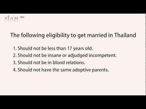 Marriage Registration in Thailand (Requirements & Process)