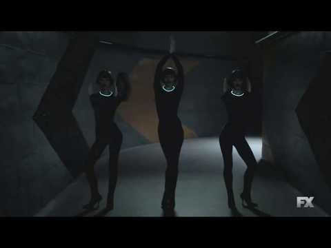 Legion - Season 2 - Robots stalking Clark Funny Scene