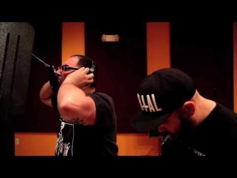 Remembering Never - This Hell Is Home, in the studio with a jerk