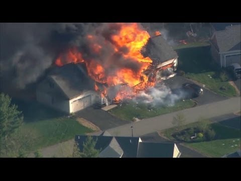 Deadly New Hampshire House Explosion Caught On Video