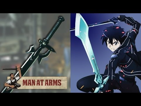 Kirito's Elucidator From Sword Art Online