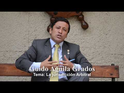 Programa 23 - La Jurisdicción Arbitral - Tribuna Constitucional - Guido Aguila