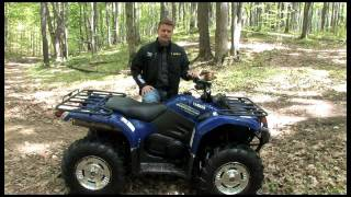 9. Introducing the 2011 Yamaha Kodiak 450 ATV