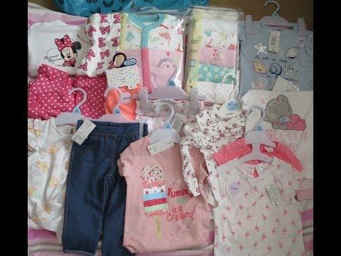 Tesco F&F Baby Girls Clothes Haul