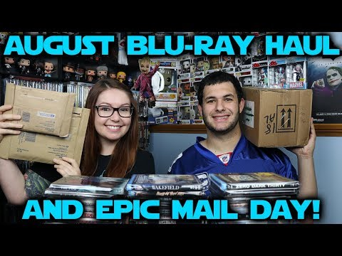 August 2017 Blu-ray Haul // EPIC Mail Day!!!