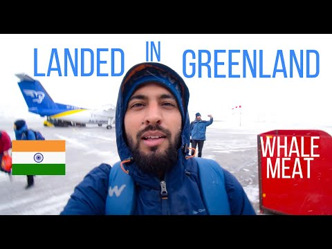 Iceland to Greenland | Travel Vlog 1 | Crashed Drone 😇Ate Whale 😱