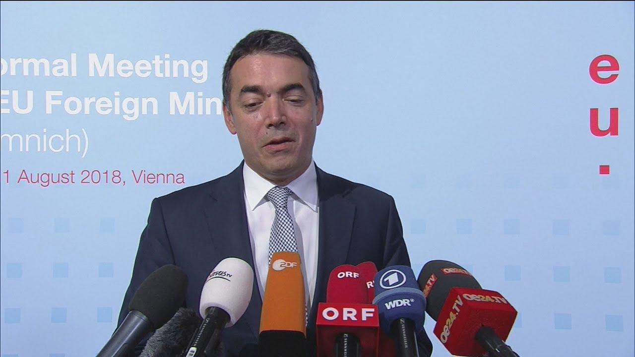 Απόσπασμα δήλωσης του Νικολάι Ντιμιτρόφ στην Βιέννη