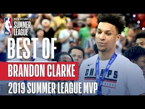 Video: Best of Summer League MVP Brandon Clarke   MGM Resorts NBA Summer League