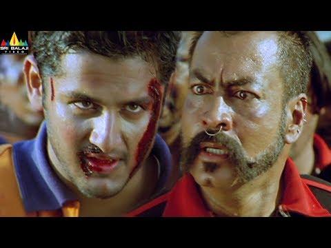 Sye Movie Climax | Telugu Movie Scenes | Nithin, Genelia, Rajamouli | Sri Balaji Video