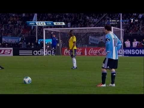 Lionel Messi Amazing Skills vs Colombia
