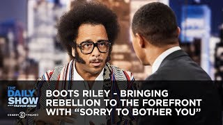 "Video Boots Riley - Bringing Rebellion to the Forefront with ""Sorry to Bother You"" 