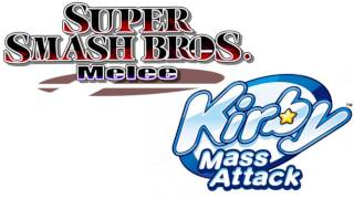 Kirby Mass Attack music has striking ressemblance to Melee Target Test music.