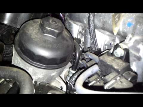 how to change oil filter on zafira b