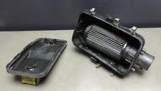10. Polaris Sportsman 500 Air Box / Air Intake Modification