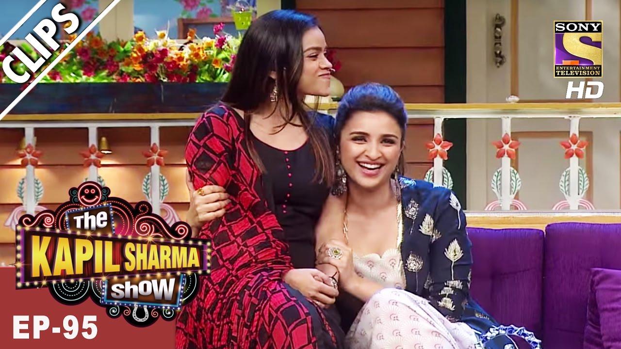 Sarla Gulati Meets Parineeti & Ayushmann -The Kapil Sharma Show – 8th Apr, 2017