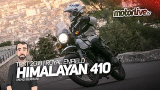 10. ROYAL ENFIELD HIMALAYAN 410 | TEST 2018