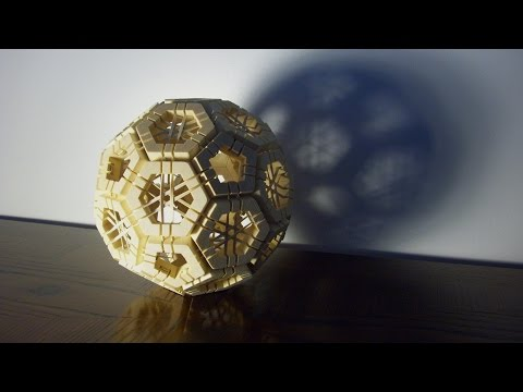 Creating a Geodesic Sphere Puzzle