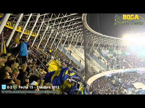 Video - Si quieren ver fiesta vengan a la 12 - La 12 - Boca Juniors - Argentina