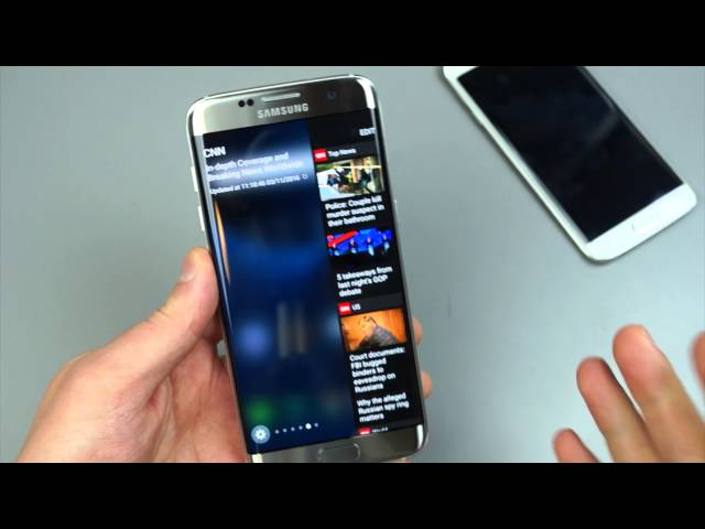 Quick Look at Edge Panel on the Galaxy S7 Edge