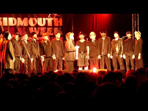 The Spooky Men's Chorale sing
