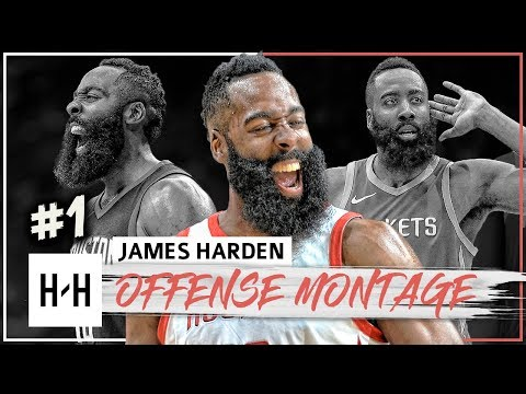 James Harden MVP Montage 2017-2018 - King of Stepback!