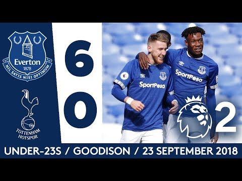 U23S HIT SPURS FOR SIX! | EVERTON 6-0 SPURS: ALL THE GOALS! (видео)