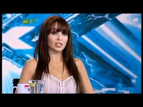WOMAN ATTACKS JUDGES ON THE X FACTOR