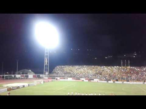 Salida de Trujillanos ante River Plate - Tribu Guerrera - Trujillanos