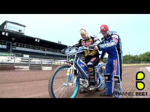 speedway - Our presenter Charlie Webster learns how to ride a Speedway bike. I produced Charlie, fimed and edited this piece.