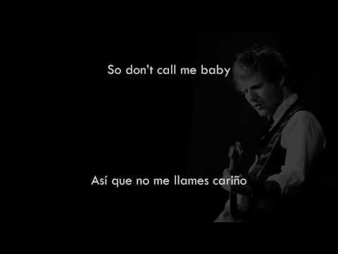 Ed Sheeran - Dive (English & Español) Audio Official (видео)