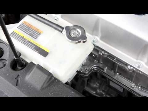2013 Nissan LEAF - Motor Compartment Check Locations