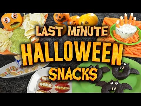9 EasytoMake Halloween Treats