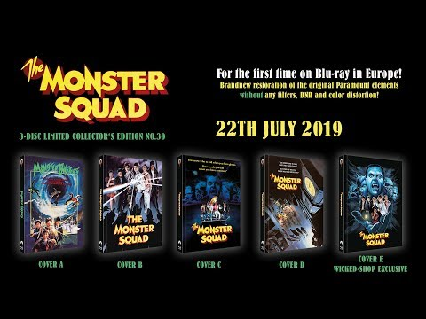 MONSTER SQUAD - Comparison between Wicked-Vision & Lionsgate