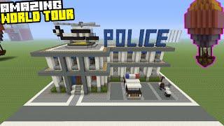 Amazing World Tour! Prison Tour, Police Station Tour Featuring Shark House!