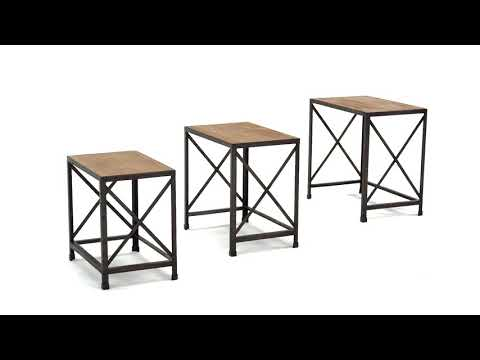 Vennilux T500-716 Nesting End Tables