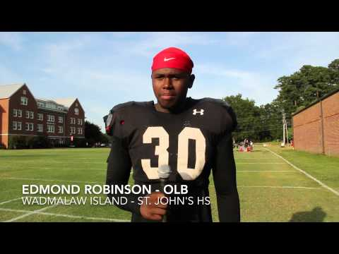 Edmond Robinson Interview 8/21/2014 video.