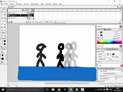 How to create an animation with Flash 5