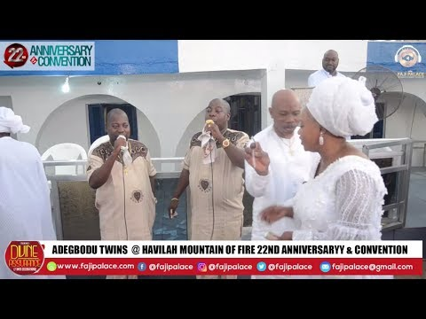 ADEGBODU TWINS LIVE @ ROSAC 22ND ANNIVERSARY & CONVENTION WITH DADDY AND MUMMY OLUBORI